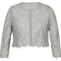 Chesca Scallop Trim Lace Jacket
