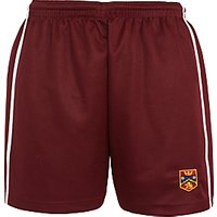 Highclare School Senior Girls Shorts, Maroon/Multi