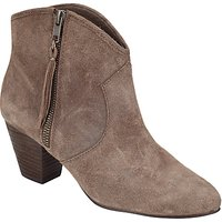 Ash Jess Stacked Heel Ankle Boot