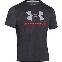 Under Armour Logo Short Sleeve Training Top, Black