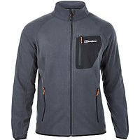Berghaus Deception Full Zip Mens Fleece, Black