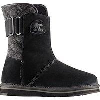 Sorel Newbie Short Womens Snow Boots, Black