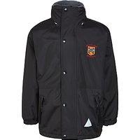 Highclare School Unisex Coat, Black