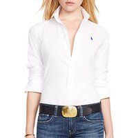 Polo Ralph Lauren Kendall Fitted Shirt, White