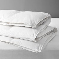 John Lewis and Partners Natural Duck Down Duvet, 13.5 Tog (4.5 + 9 Tog) All Seasons