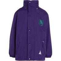 Unisex PE Outdoor Jacket, Purple/Green