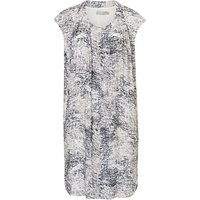 Betty Barclay Printed Shift Dress, Silver/Grey