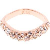 shop for Karen Millen Swarovski Crystal Pave Ring at Shopo