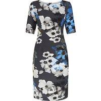 Fenn Wright Manson Flower Print Aquarius Dress, Grey