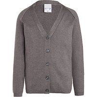 Fairley House School Cardigan, Grey