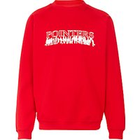 Pointer School Sweatshirt, Red