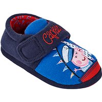 Peppa Pig Captain George Children's Slippers, Blue