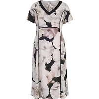 shop for Chesca Rose Print Dress, Blush at Shopo