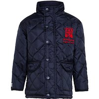 St Johns College Coat, Navy