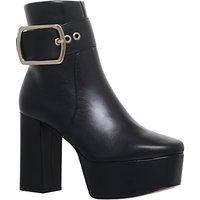 KG by Kurt Geiger Spritz Platform Block Heeled Ankle Boots, Black