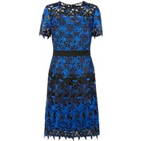 Fenn Wright Manson Petite Planet Dress, Black/Blue