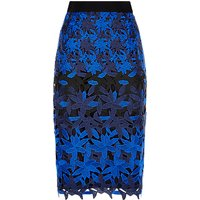 Fenn Wright Manson Petite Planet Skirt, Black/Blue