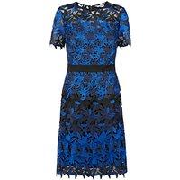 Fenn Wright Manson Planet Dress, Black/Blue