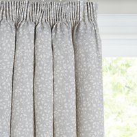John Lewis and Partners Arley Pair Lined Pencil Pleat Curtains
