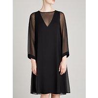 Winser London Georgette Silk Layered Dress