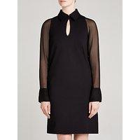 Winser London Miracle Georgette Sleeve Dress