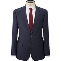 Kin by John Lewis Miller Pindot Slim Fit Suit Jacket, Navy