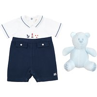 Emile et Rose Baby Keenan Nautical Romper