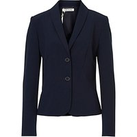 Betty Barclay Tailored Short Blazer, Dark Sky