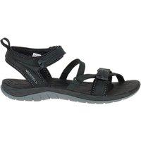 Merrell Siren Strap Q2 Waterproof Womens Walking Shoes, Black