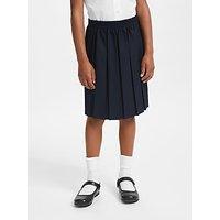 John Lewis and Partners Girls Pleated School Skirt