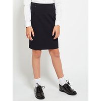 John Lewis and Partners Senior Girls School Pencil Skirt, Navy