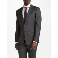 Richard James Mayfair Wool Pindot Slim Fit Suit Jacket, Charcoal