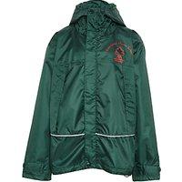 Ashbrooke School Coat, Bottle Green