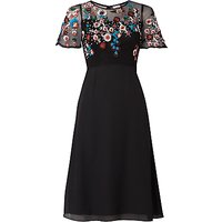 shop for Raishma Autumn Floral Dress, Black at Shopo