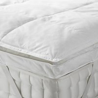 John Lewis and Partners Natural Duck Down 5cm Deep Mattress Topper