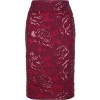 Fenn Wright Manson Volcano Skirt, Red