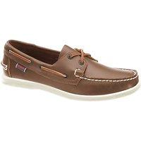 Sebago Liteside 2 Eye Boat Shoes, Medium Brown