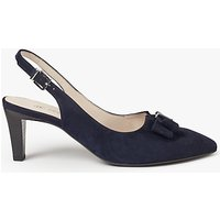 Peter Kaiser Mareike Slingback Court Shoes, Navy