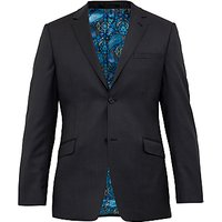 Ted Baker Cotlinj Wool Tailored Fit Suit Jacket, Charcoal