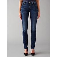 7 For All Mankind Roxanne Mid Rise B(air) Slim Jeans, Duchess