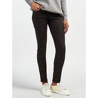 Calvin Klein Mid Rise Skinny Jeans, Pop Black