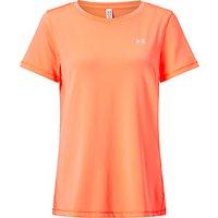 Under Armour HeatGear Armour Short Sleeve T-Shirt, Orange