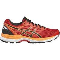 Asics Childrens Gel-Cumulus 18 GS Running Shoes, Red/Multi