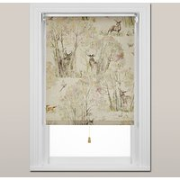 Voyage Sherwood Forest Roller Blind, Spring Mechanism, Natural