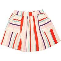Margherita Kids Baby Multi Colour Stripe Skirt, Multi