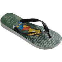 Havaianas Childrens Simpsons Flip Flops, Grey
