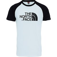 The North Face Easy Short Sleeve T-Shirt, White/Black