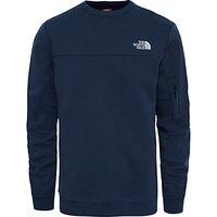The North Face Crew Pocket Sweatshirt, Navy