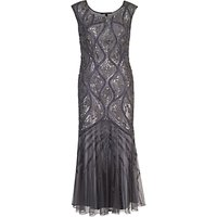 Chesca Beaded Mesh Dress