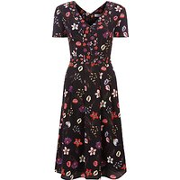 Fenn Wright Manson Petite Antibes Botanical Print Dress, Multi